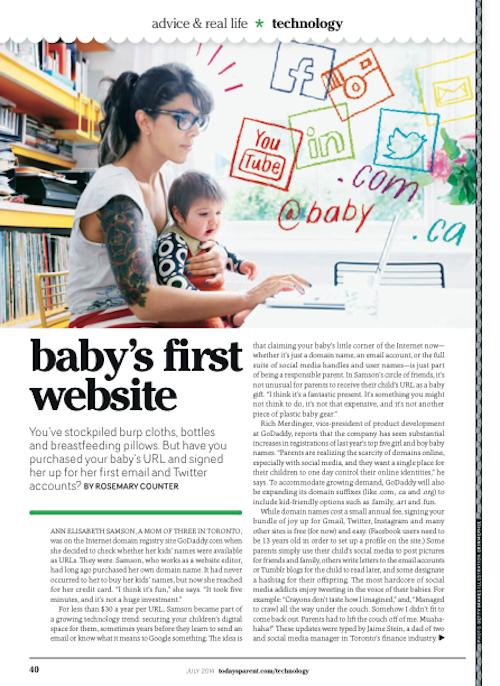Baby's1stWebsite